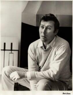 John Osborne, by Mark Gerson, May 1965 - NPG x13774 - © Mark Gerson / National Portrait Gallery, London