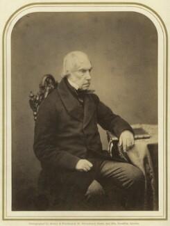 George Hamilton Gordon, 4th Earl of Aberdeen, by Maull & Polyblank, published June 1858 - NPG x14260 - © National Portrait Gallery, London