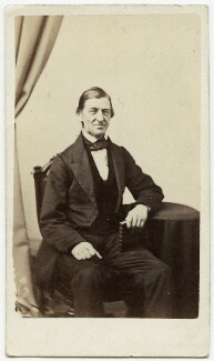 Ralph Waldo Emerson, by James Wallace ('J.W.') Black - NPG x14303