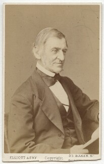 Ralph Waldo Emerson, by Elliott & Fry - NPG x14304