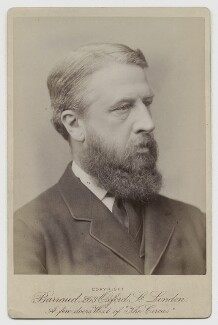 Spencer Compton Cavendish, 8th Duke of Devonshire, by Herbert Rose Barraud - NPG x14333