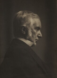 Sir Edward Fry, by Henry Dixon & Son - NPG x14367