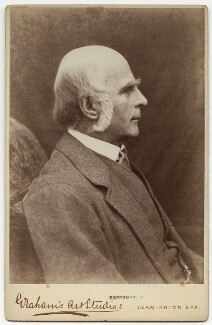 Sir Francis Galton, by Graham's Art Studios - NPG x14369