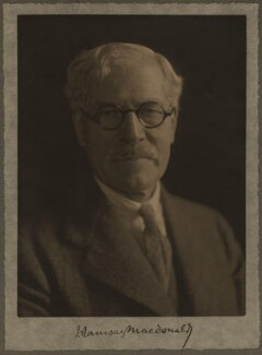 Ramsay MacDonald, by Olive Edis - NPG x14390