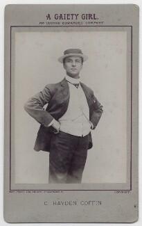 Charles Hayden Coffin in 'A Gaiety Girl', by The Hana Studios Ltd - NPG x14706