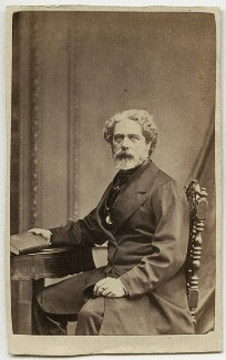 Philip James Bailey, by Henry Joseph Whitlock - NPG x148