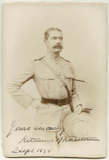 Herbert Kitchener, 1st Earl Kitchener, by G. Lekegian & Co - NPG x14994