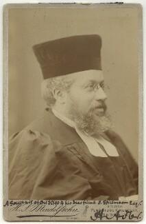Hermann Adler, by Hayman Seleg Mendelssohn - NPG x15