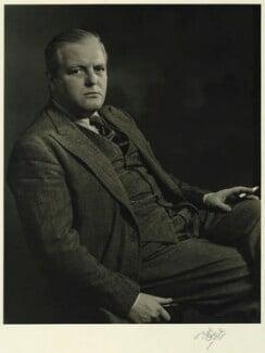 Randolph Frederick Edward Spencer Churchill, by Karl Pollak - NPG x15010