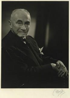 Sir Barry Edward Domvile, by Karl Pollak - NPG x15013
