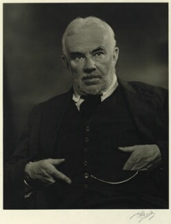 Cyril Edwin Mitchinson Joad, by Karl Pollak - NPG x15028