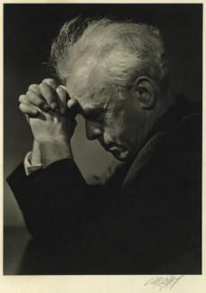 Walter Robert Matthews, by Karl Pollak - NPG x15037