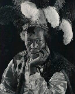 Ras Prince Monolulu (Peter Carl MacKay), by Karl Pollak - NPG x15040