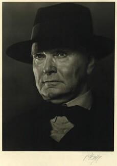 Sir Charles Herbert Reilly, by Karl Pollak - NPG x15047