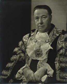 Sir Bracewell Smith, 1st Bt, by Karl Pollak - NPG x15049