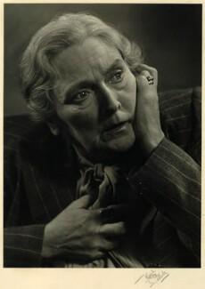 Sybil Thorndike, by Karl Pollak - NPG x15052