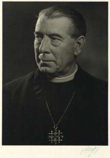 (John) William Charles Wand, by Karl Pollak - NPG x15056