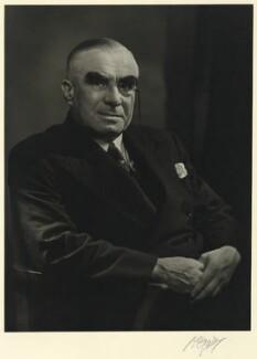 Sir Frederick Michael Wells, 1st Bt, by Karl Pollak - NPG x15057