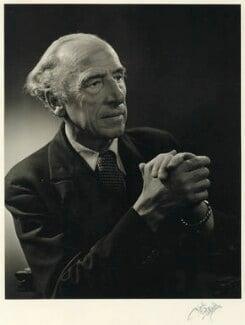 Sir (Bertram) Clough Williams-Ellis, by Karl Pollak, circa 1948 - NPG x15058 - © reserved; collection National Portrait Gallery, London