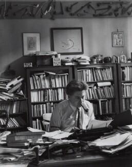 Ilya Grigoryevich Ehrenburg, by André Kertész, 1931 - NPG x15066 - © Estate of André Kertész