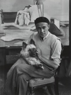 Jean Lurçat, by André Kertész - NPG x15069
