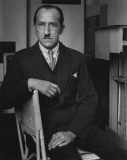Piet Mondrian, by André Kertész - NPG x15072