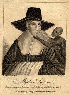 Mother Shipton, by John Scott, published by  Ralph Smith Kirby, published by  John Scott, after  Sir William Ouseley - NPG D9529