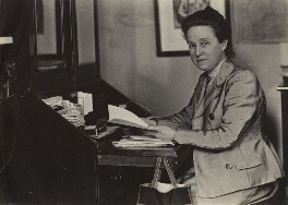 Dame Millicent Fawcett, by Olive Edis - NPG x15085