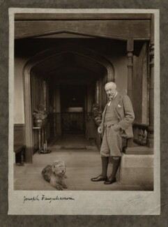 Joseph Farquharson, by Olive Edis, 1923 - NPG x15086 - © National Portrait Gallery, London