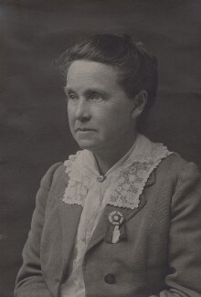 Dame Millicent Garrett Fawcett (née Garrett), by Unknown photographer, circa 1920 - NPG x15090 - © National Portrait Gallery, London