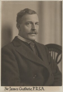Sir James Guthrie, by Unknown photographer,  - NPG x15156 - © National Portrait Gallery, London