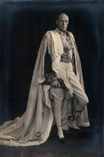 Edward Frederick Lindley Wood, 1st Earl of Halifax, by Matzene - NPG x15158