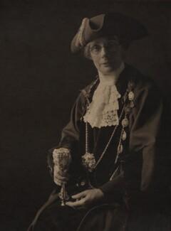 Mrs W.H.M. Galsworthy, by Olive Edis - NPG x15163