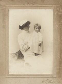 Annie Walker (later Mrs Scarce); Benjamin Britten, by Boughtons, 1914 - NPG x15172 - © National Portrait Gallery, London