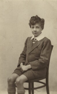 Benjamin Britten, by Unknown photographer - NPG x15178