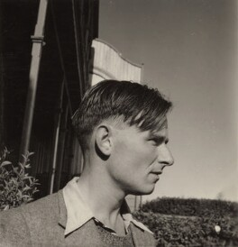 Christopher Isherwood, by Benjamin Britten - NPG x15193
