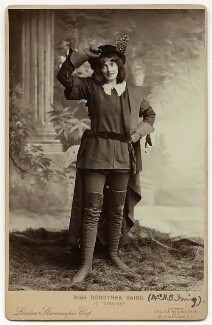 Dorothea Baird (Mrs H.B. Irving) as Rosalind in 'As You Like It', by London Stereoscopic & Photographic Company, 1894 - NPG  - © National Portrait Gallery, London