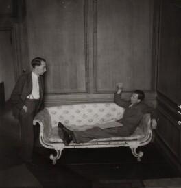 Eric John Crozier; Benjamin Britten, by Edward Mandinian - NPG x15208
