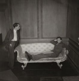 Eric John Crozier; Benjamin Britten, by Edward Mandinian - NPG x15209