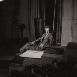 Benjamin Britten, by Edward Mandinian - NPG x15212