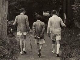 Benjamin Britten; Ronald Duncan; Peter Pears, by Kurt Hutton (Kurt Hubschman) - NPG x15221