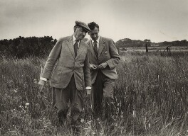 E.M. Forster; Benjamin Britten, by Kurt Hutton (Kurt Hubschman), 1949 - NPG x15222 - © reserved; collection National Portrait Gallery, London