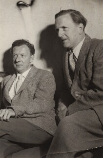Benjamin Britten; Peter Pears, by Felicitas, 1950s - NPG x15225 - © reserved; collection National Portrait Gallery, London