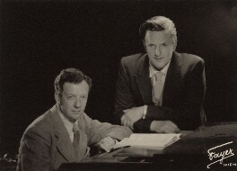Benjamin Britten; Peter Pears, by Fayer,  - NPG  - © National Portrait Gallery, London