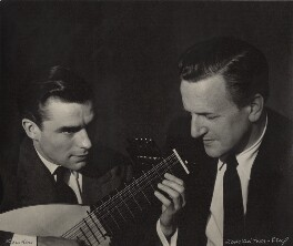 Peter Pears; Julian Bream, by Lotte Meitner-Graf - NPG x15240