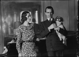 Eileen Laura Sargent (née Harding Horne); Malcolm Sargent, by Bassano Ltd, 22 June 1938 - NPG x15379 - © National Portrait Gallery, London