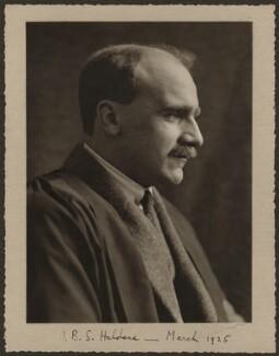John Burdon Sanderson Haldane, by Olive Edis - NPG x15418