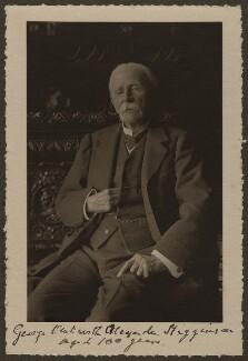 Sir George Wentworth Alexander Higginson, by Olive Edis - NPG x15432