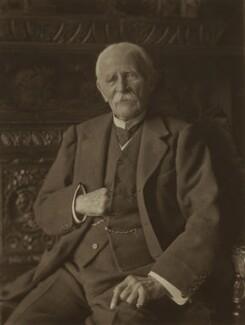 Sir George Wentworth Alexander Higginson, by Olive Edis - NPG x15433