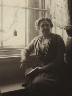 Dame Margaret Lloyd George (née Owen), by Olive Edis - NPG x15463